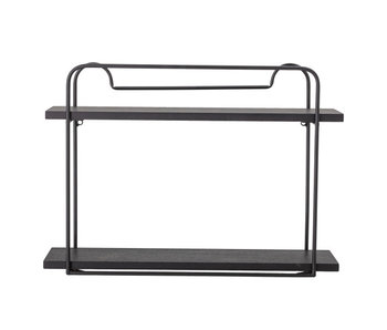 Bloomingville Cass rack - black