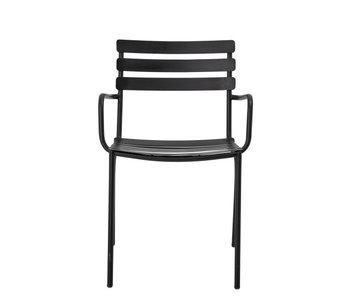 Bloomingville Monsi stoel - zwart