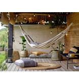 Bloomingville Effie lantaarn - bamboe/glas