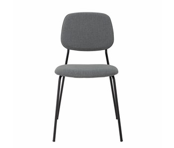 Bloomingville Corte dining chair - gray