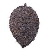 Bloomingville Isla placemats zeegras grijs - set van 6 stuks