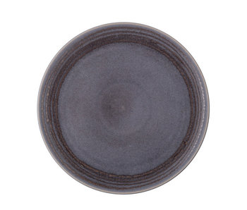 Bloomingville Raben bord grijs Ø30cm - set van 4 stuks