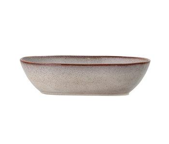 Bloomingville Sandrine serveerschaal grijs -L25,5xH6,5xW16,5 cm