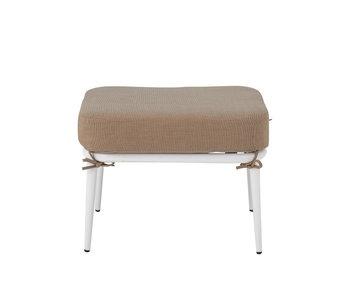 Bloomingville Cia pouf / stool - white