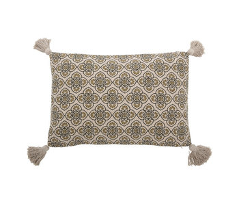 Bloomingville Cila pillow - green