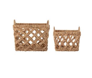 Bloomingville Sadia baskets - set of 2 pieces