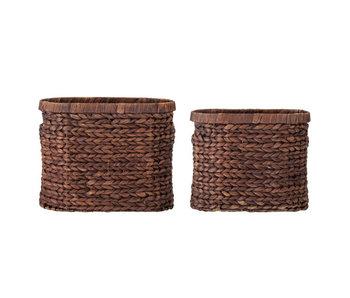Bloomingville Saria baskets - set of 2 pieces