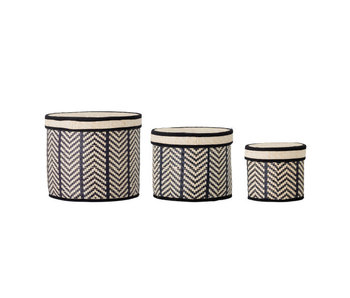 Bloomingville Islim baskets - set of 3 pieces