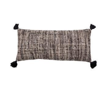 Bloomingville Jerik cushion - black