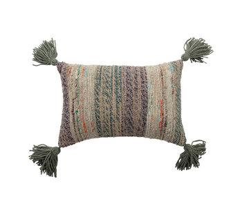 Bloomingville Jian pillow - black