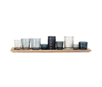 Bloomingville Elvie tray with candle holders