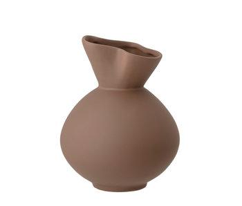 Bloomingville Nica vase - brown
