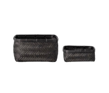 Bloomingville Donia baskets - set of 2 pieces