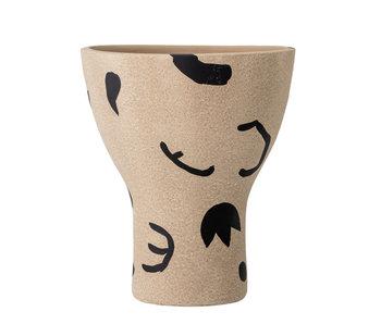 Bloomingville Nans vase - brown