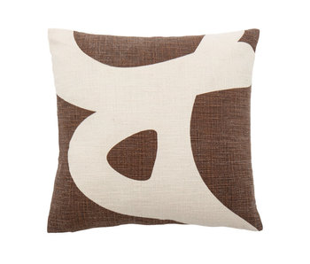 Bloomingville Ebrar pillow - brown