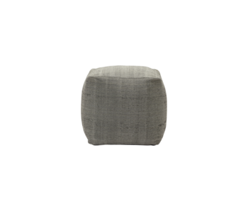 House Doctor Tabi pouf - gray 45x45x45cm