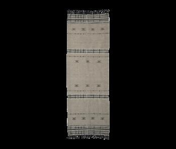 House Doctor Cros vloerkleed - zand 300x90cm