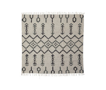 House Doctor Arte rug-off white 180x180cm