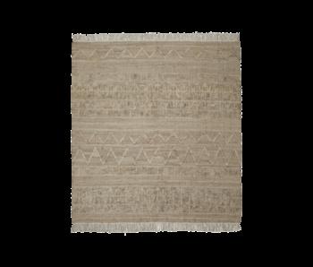 House Doctor Shriv rug - sand 250x250cm