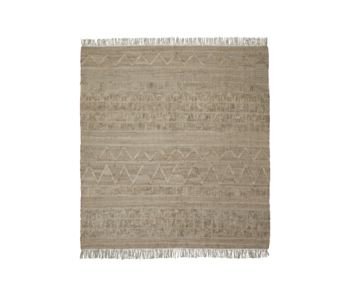 House Doctor Tapis Shriv - sable 250x250cm