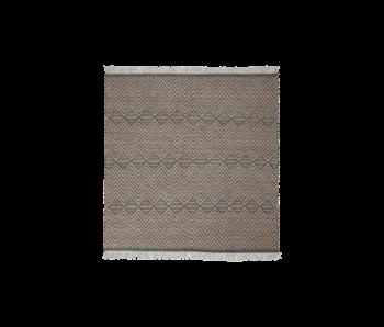 House Doctor Ranjar teppe - naturlig 250x250cm