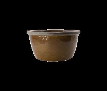 House Doctor Whai flower pot - mustard