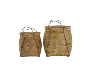 House Doctor Kuta baskets - set of 2 pieces