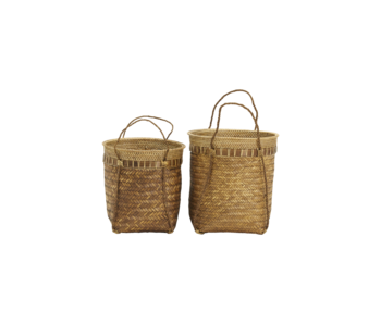 House Doctor Bali baskets - set of 2 pieces Ø35 and Ø30