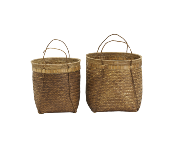 House Doctor Bali baskets - set of 2 pieces Ø45 and Ø40
