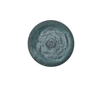 House Doctor Serveur borden - groen Ø24cm  - set van 8 stuks