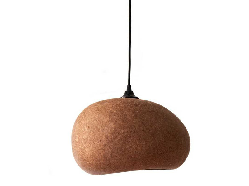 Ay Illuminate Pebble hanglamp terracotta - medium