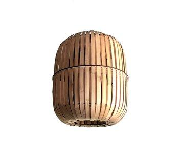 Ay Illuminate Lampe à suspension Wren en bambou - moyen