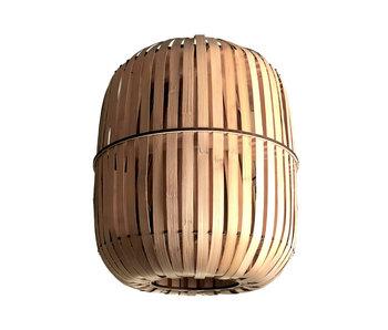 Ay Illuminate Lampe à suspension Wren en bambou - grande