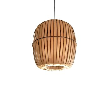 Ay Illuminate Kiwi hanglamp bamboe - medium