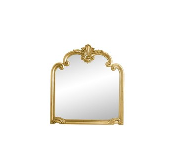 Nordal Angel wall mirror - gold