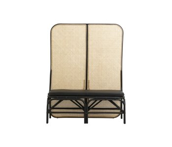 Nordal Begna folding screen with bench incl mattress