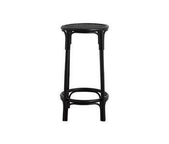Nordal Chaise de bar Nen - noire