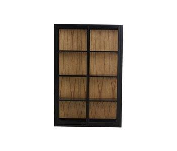 Nordal Bei wall cupboard - black