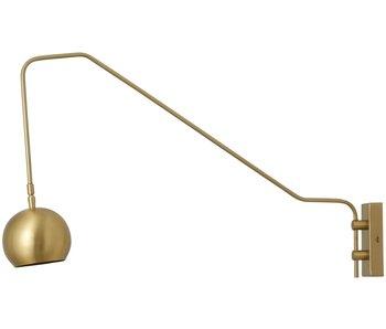 Nordal Athens wall lamp - gold