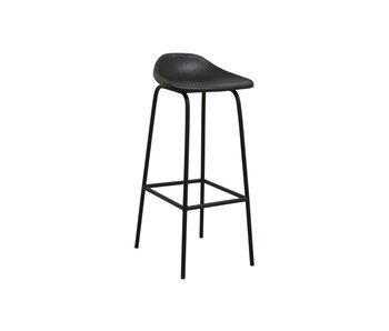 Nordal Garda bar chair - black