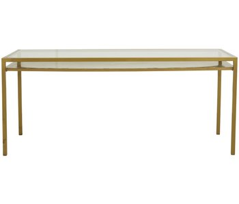 Nordal Etne dining table - gold