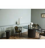 Nordal Erie dining table - black