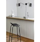 Nordal Eris wall lamp - black