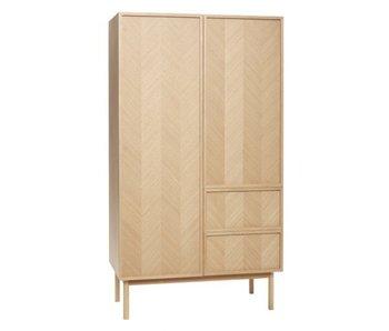 Hubsch Oak cupboard - natural