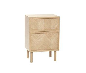 Hubsch Sideboard / bedside table oak - natural