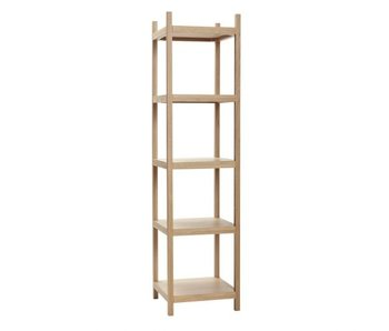 Hubsch Cabinet with 5 shelves - 45x45xh180cm