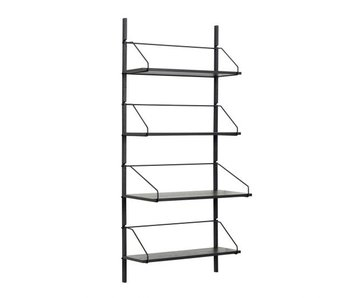 Hubsch Wall shelf - black