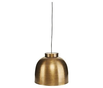House Doctor Bowl hanging lamp brass