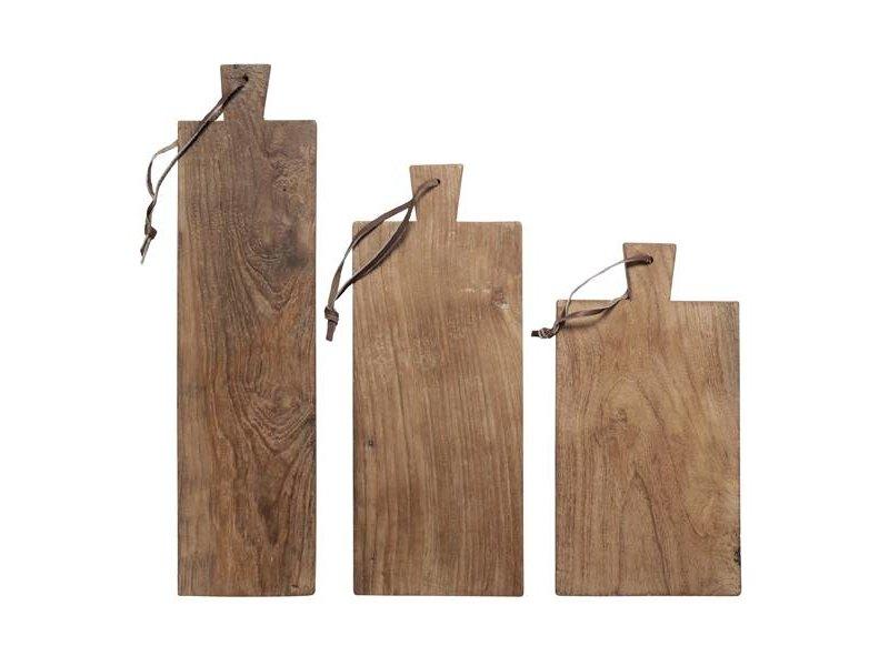 HK-Living Broodplank hout set van 3