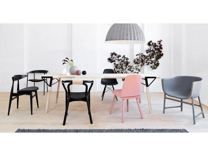 Normann Copenhagen Knot Chair stoel zwart hout